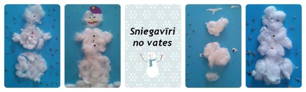 Sniegavīri no vates+